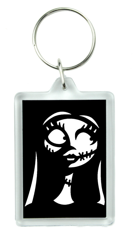 Sally Nightmare Before Christmas Keychain Gothic Key Ring