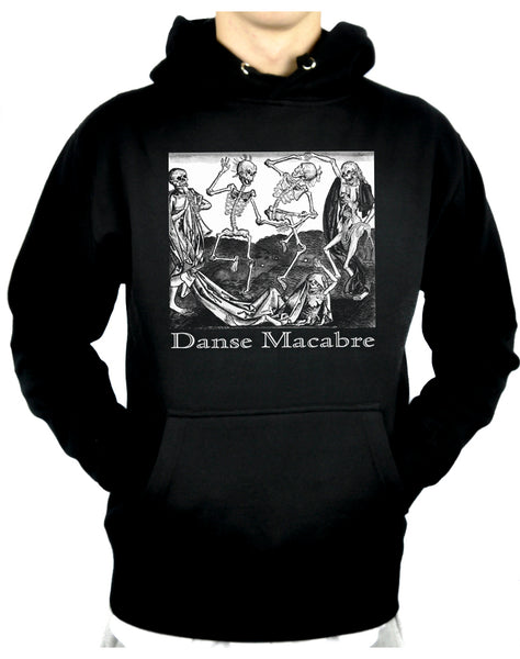 The Dance Of Death Danse Macabre Pullover Hoodie Sweatshirt Skeletons