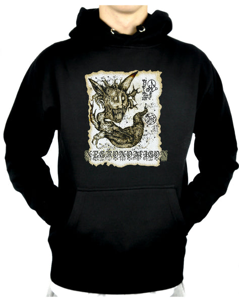 Necronomicon Demon Pullover Hoodie Sweatshirt Book of the Dead