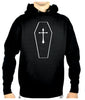 Toe Pincher Coffin w/ Cross Pullover Hoodie Sweatshirt