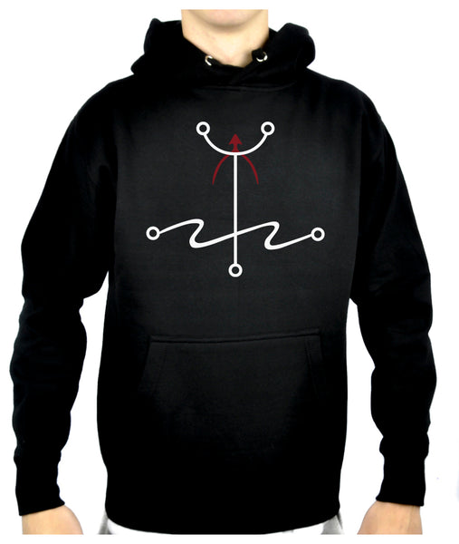 Mark of The Atheist Alchemy Symbol Pullover Hoodie Sweatshirt Humanist Freethinker Alternative Clothing