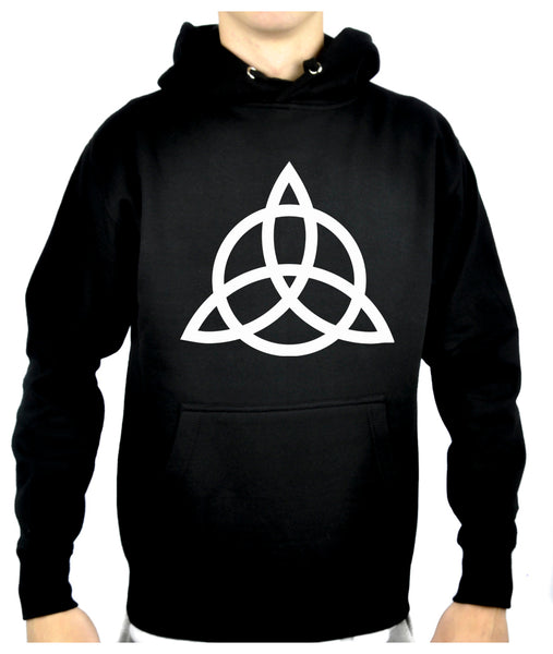 Triquetra Ancient Celtic Protection Symbol Pullover Hoodie Sweatshirt