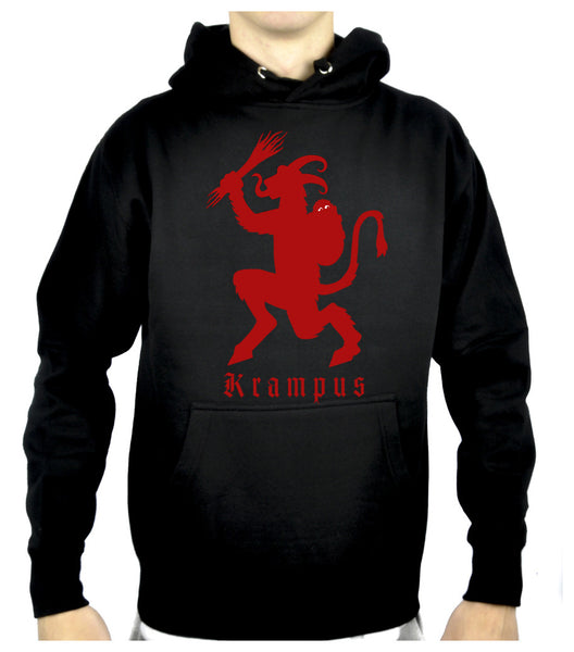 Merry Christmas Krampus Pullover Hoodie Sweatshirt Occult Clothing