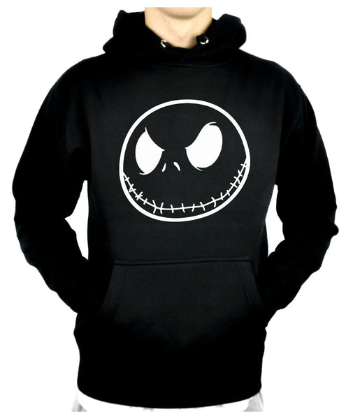 Negative Jack Skellington Pullover Hoodie Sweatshirt Nightmare Before Christmas