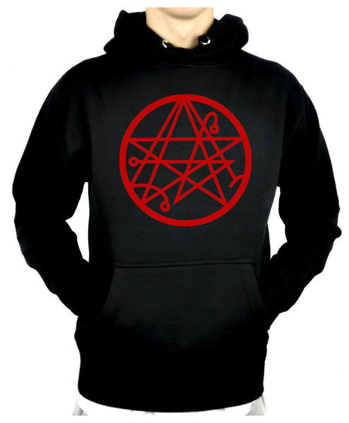 Necronomicon Gate Alchemy Symbol Pullover Hoodie Sweatshirt HP Lovecraft Cthulhu