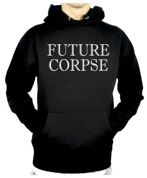 Future Corpse Pullover Hoodie Sweatshirt Occult Deathrock Clothing Alternative