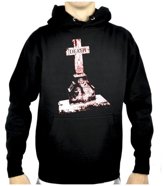 Tombstone of Death Cemetery Pullover Hoodie Sweatshirt Dark Alternative Clothing