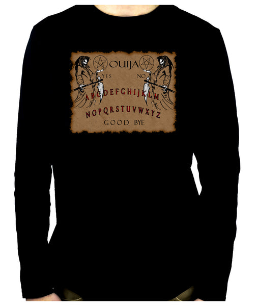 Occult Spirit Guide Ouija Board Men's Long Sleeve T-Shirt