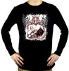 Satanic Baphomet Goat Devil Men's Occult Long Sleeve T-shirt