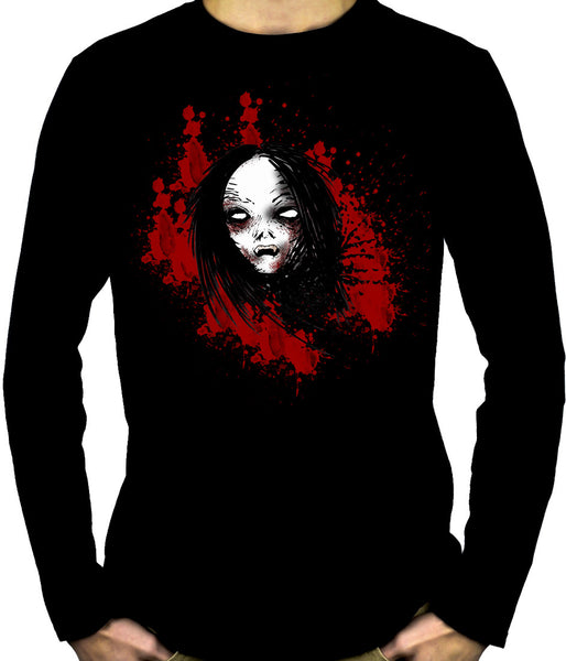 Bloody Vampire Death Bound Long Sleeve Shirt