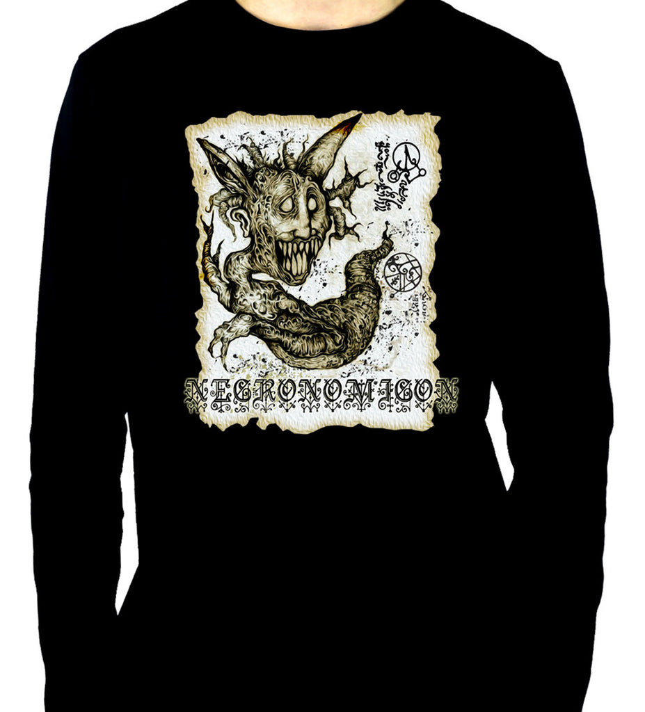 Necronomicon Demon Long Sleeve Shirt Book of the Dead