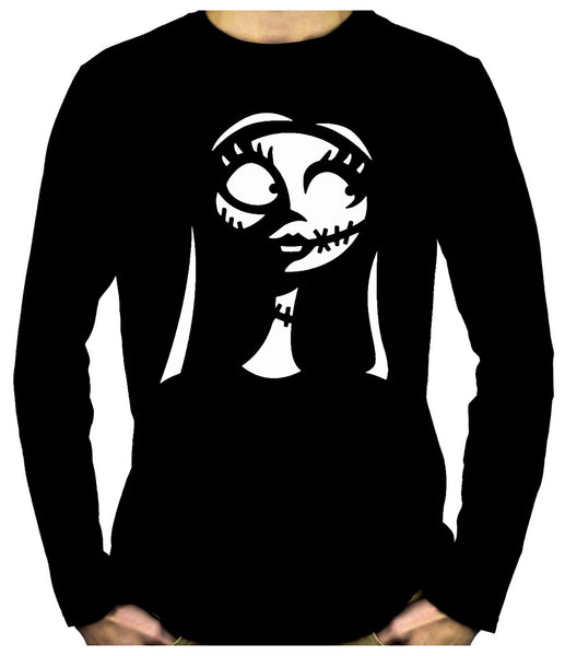 For Love of Sally Men's Long Sleeve T-Shirt Nightmare Before Christmas Clothing
