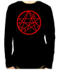 Necronomicon Gate Alchemy Symbol Long Sleeve Shirt Occult Clothing HP Lovecraft