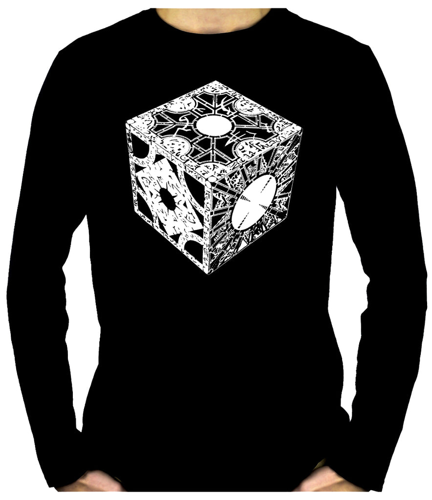 Puzzle Box Men's Long Sleeve T-Shirt Pinhead Hellraiser