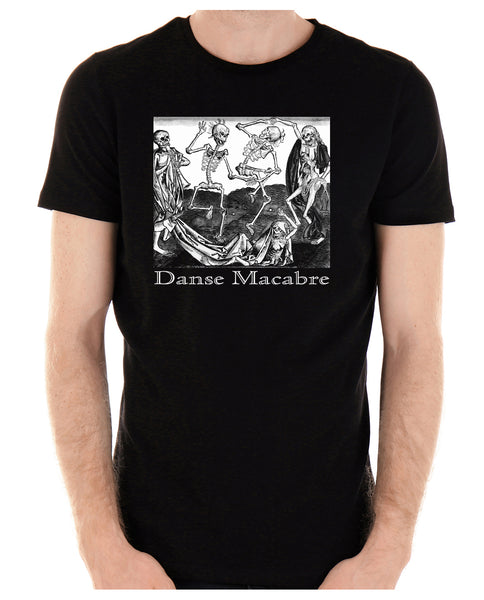 The Dance Of Death Danse Macabre Men's T-Shirt Skeletons