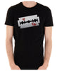 Bloody Razor Blade Men's T-Shirt Suicide Prevention Awareness