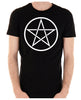 White Woven Pentacle Men's T-Shirt Occult Clothing