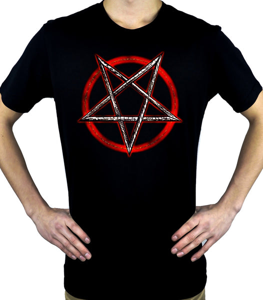 Inverted Pentagram Men's T-Shirt Occult Clothing