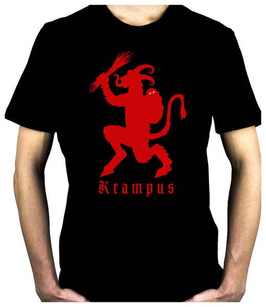 Merry Krampus Men's T-Shirt Demon King of Horror Christmas Gruss Vom