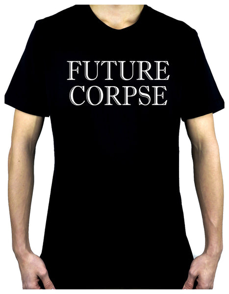 Future Corpse Men's T-Shirt Alternative Clothing Funeral Cemetery Lolita