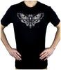 Moth with Death Skull Men's T-Shirt Alternative Gothic Clothing