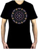 Geometric Gothic Stained Glass Window Men's T-Shirt Alternative Clothing
