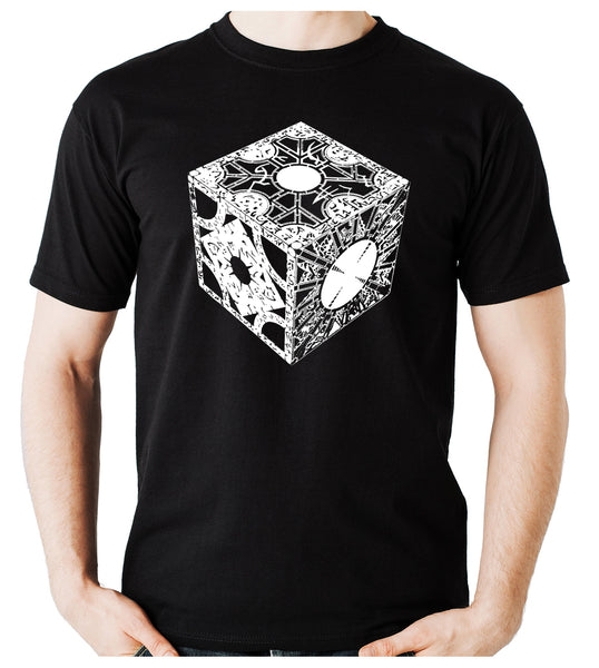 Puzzle Box Men's T-Shirt Hellraiser Pinhead Horror Clothing