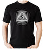 Pyramid w/ All Seeing Eye Men's T-Shirt