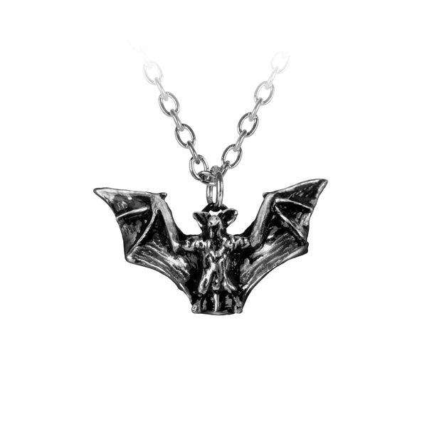 Alchemy Gothic Vampyr Bat Pendant Necklace