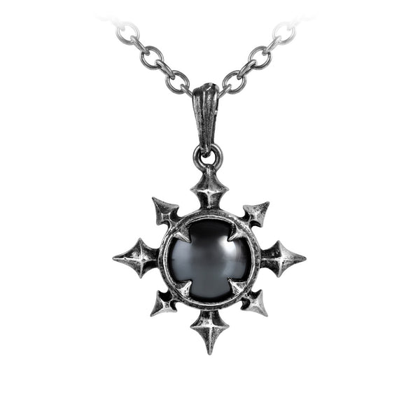 Alchemy Gothic Chaosium Pendant Necklace w/ Cabochon
