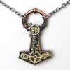 Alchemy Gothic Steamhammer Pendant Necklace Thor