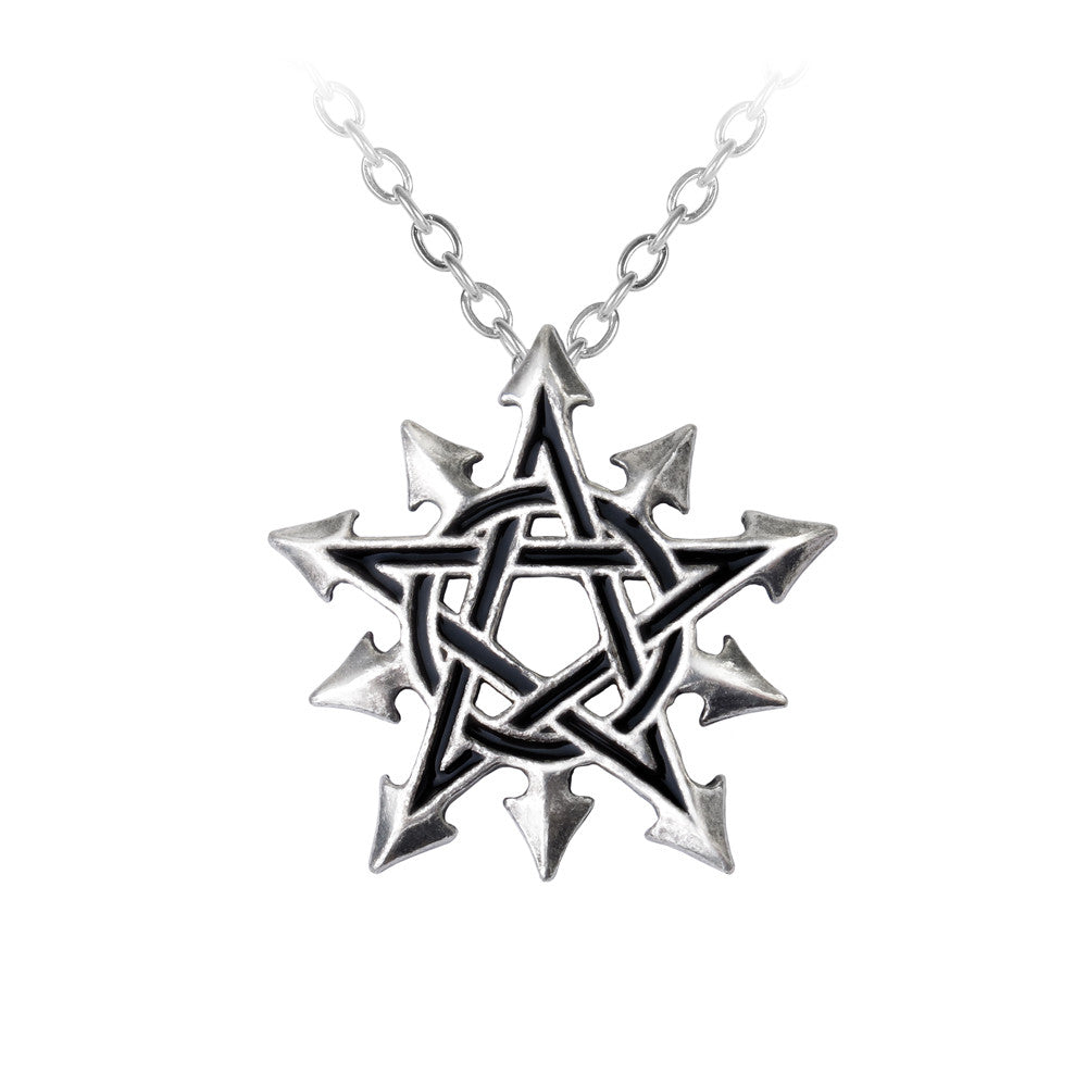Alchemy Gothic Chaosagram Pendant Necklace