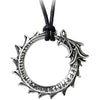 Alchemy Metal-Wear Jormungand Pendant Necklace