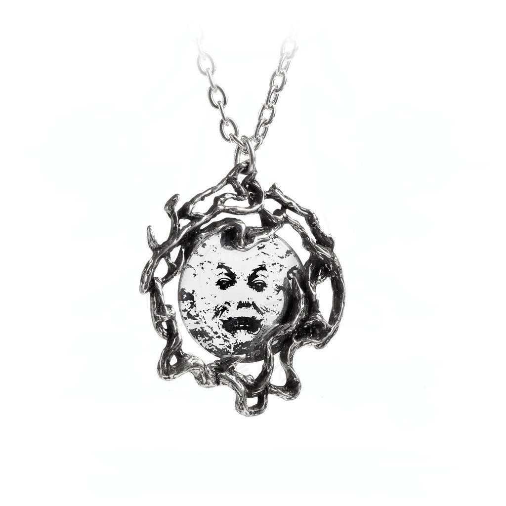 Alchemy Gothic M'era Luna Melies Moon Pendant Necklace