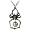 Alchemy Gothic Glistercreep Spider Pendant Necklace