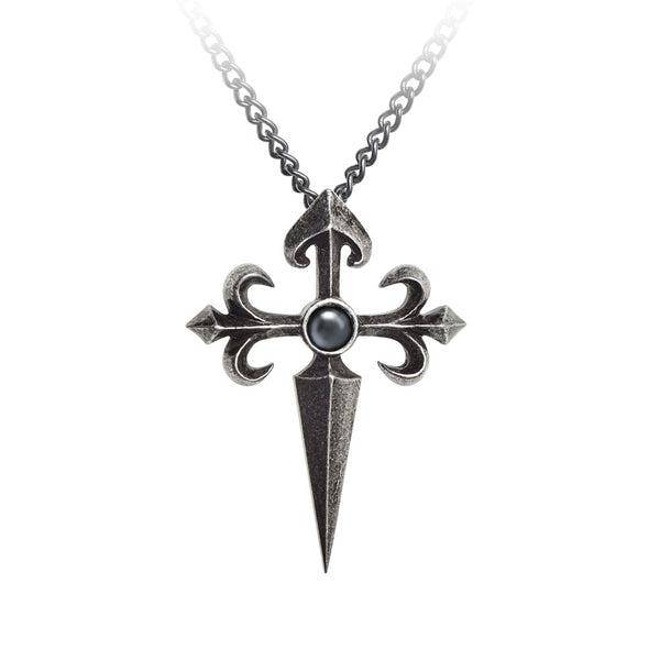 Alchemy Gothic Santiago Cross Pendant Necklace