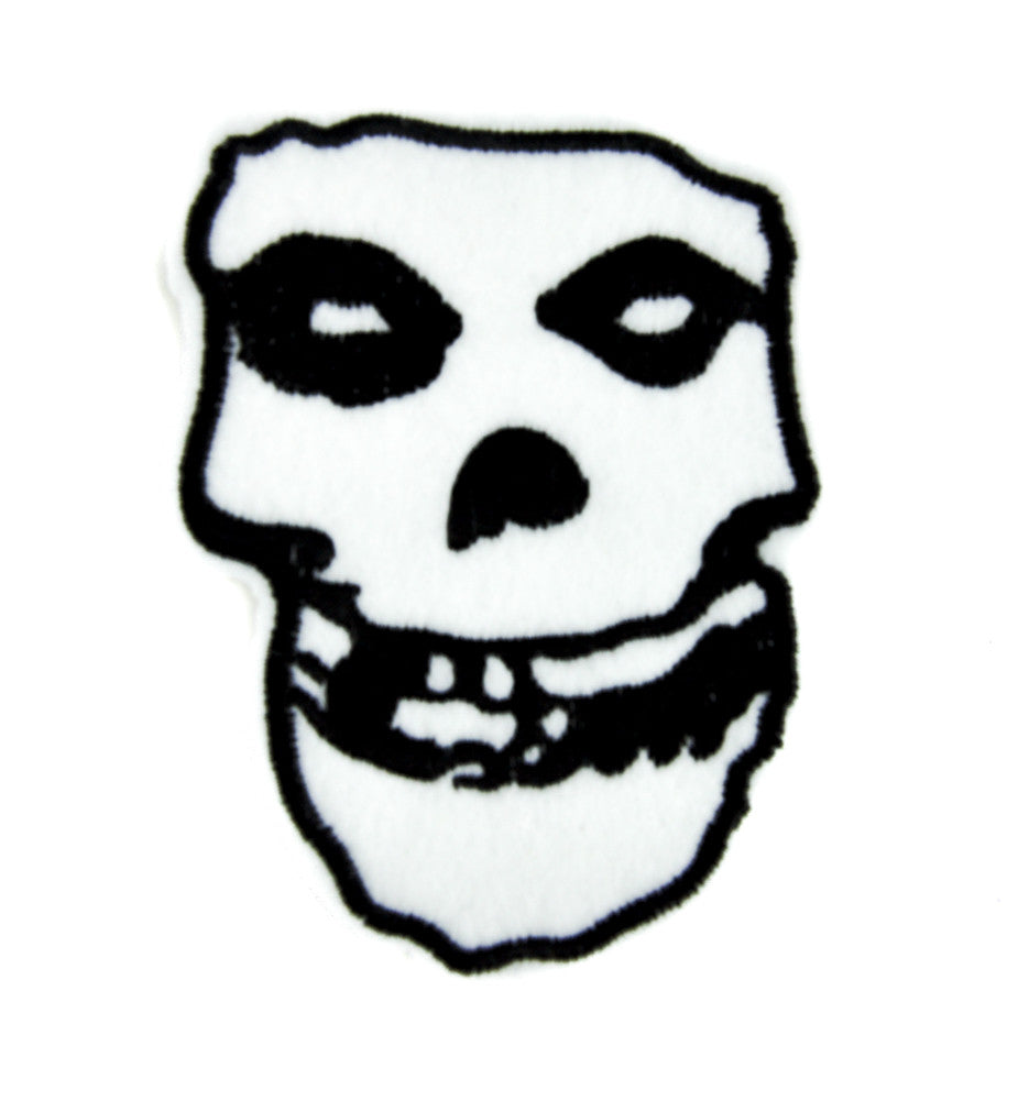 Misfits Skull Patch Iron on Applique Glenn Danzig