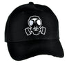 Gas Mask Bio Hazard Sign Hat Baseball Cap Horror Clothing