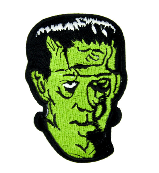 Classic Monster Movie Frankenstein Patch Iron on Applique Clothing Creature Feature