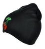 Double Cherry Rockabilly Beanie Clothing Knit Cap