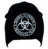 Black Zombie Outbreak Response Team Beanie Walking Dead Cap