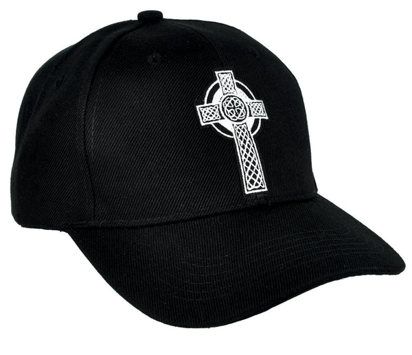 Celtic Cross Tombstone Hat Baseball Cap Occult Clothing