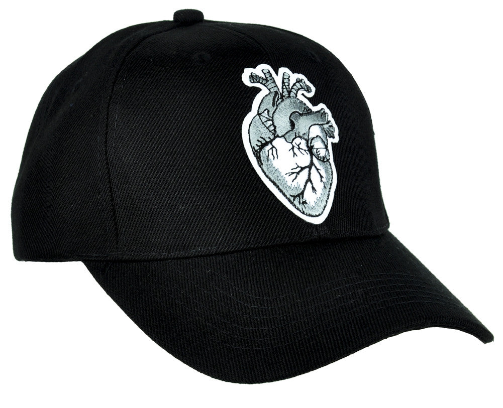 Anatomical Human Heart Hat Baseball Cap Occult Clothing