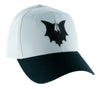 Black Vampire Bat Wings on Gray Hat Baseball Cap Alternative Clothing