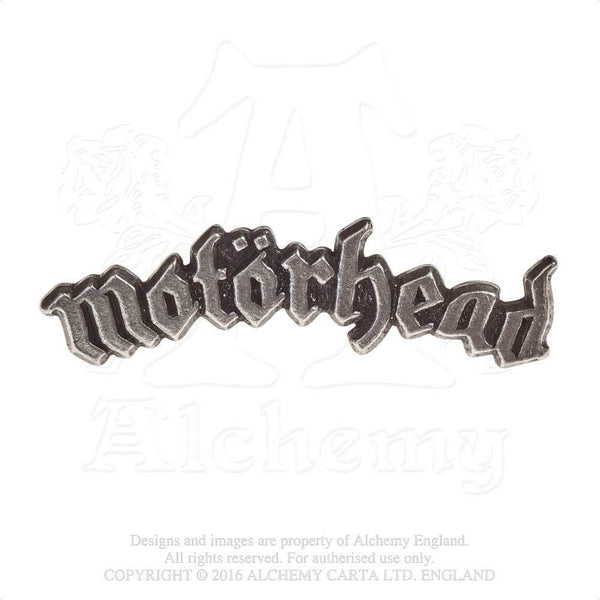 Alchemy Gothic Rocks Motorhead Logo Lapel Pin Lemmy
