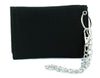 Angry Jack Skellington Tri-fold Wallet w/ Chain Nightmare Before Christmas