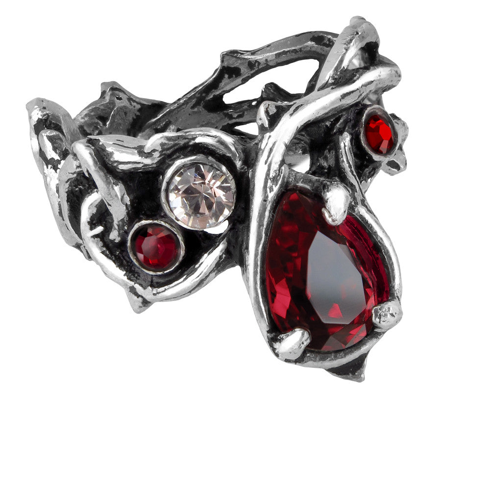 Alchemy Gothic Passion Teardrop Ring