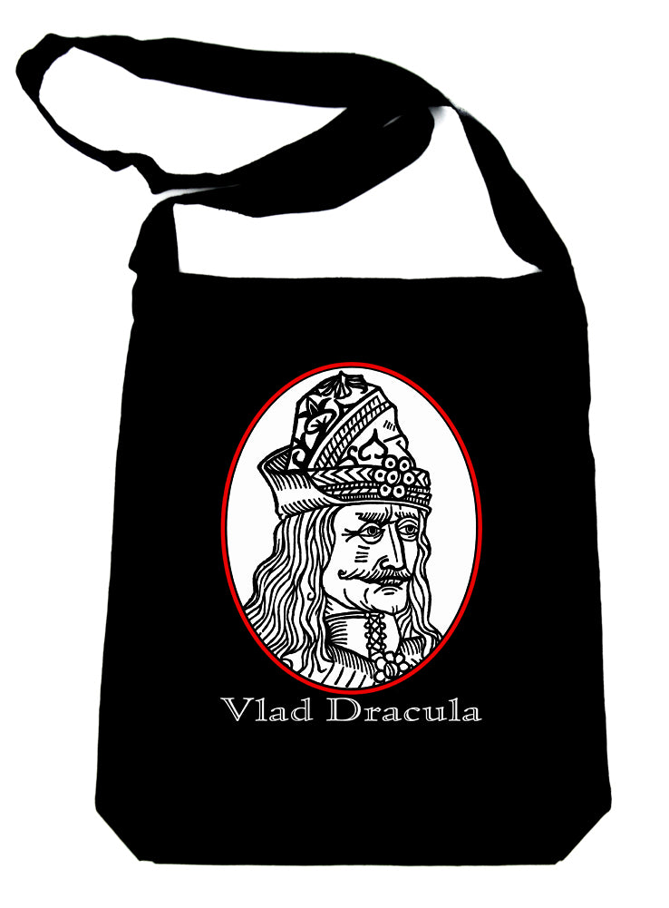 Vlad Dracula The Impaler Crossbody Sling Bag Vampire Occult