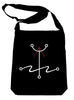 Mark of the Atheist Alchemy Symbol Sling Bag Tote Humanist Freethinker Alternative Clothing Book Bag