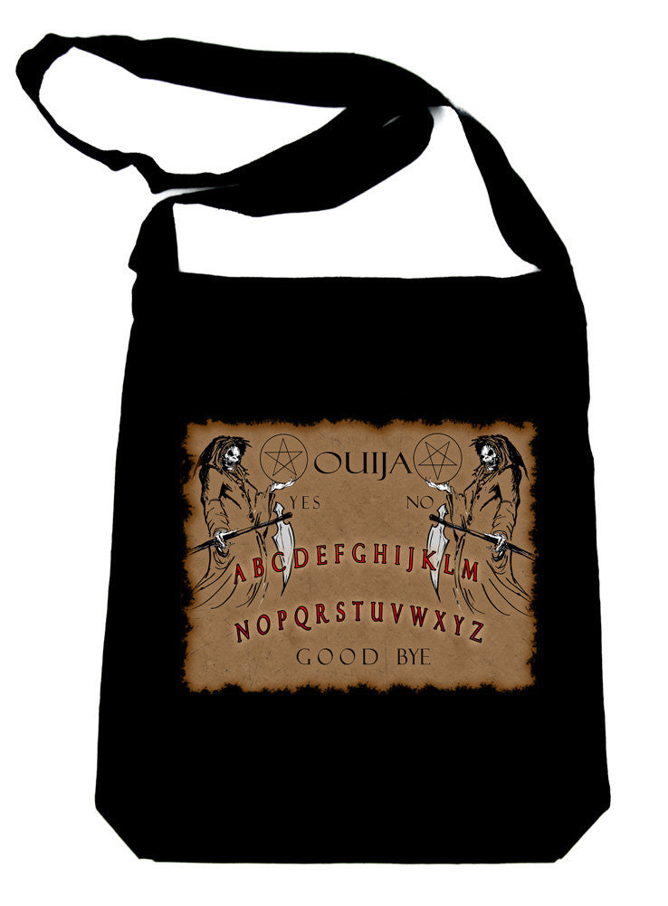 Grim Reaper Ouija Board Crossbody Sling Bag Horror